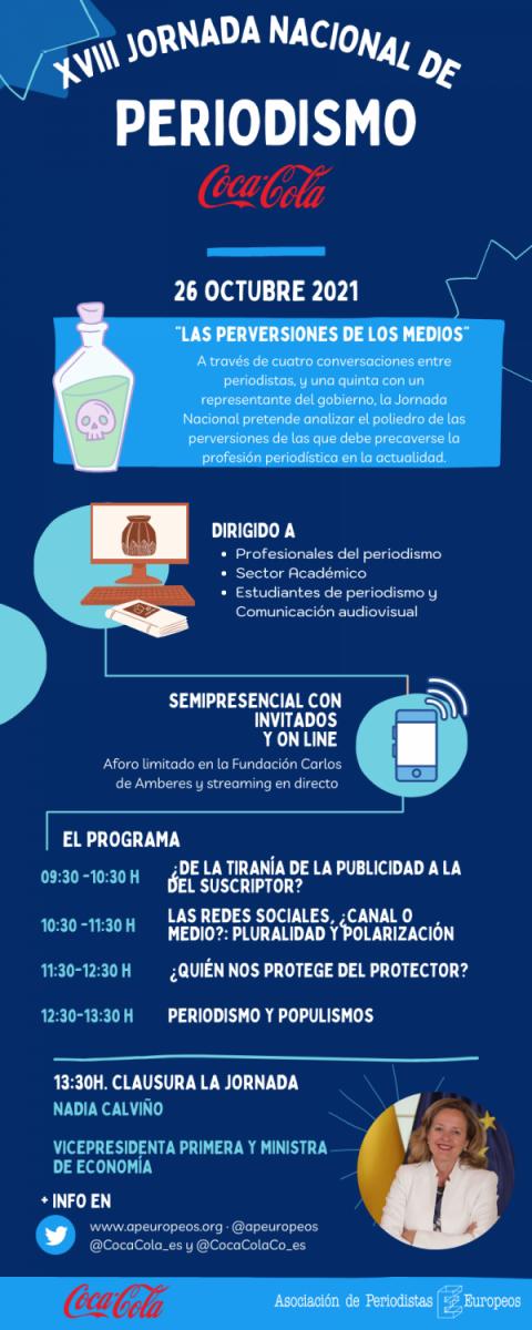 XVIII Jornada de Periodismo Coca-Cola. Las perversiones de los medios