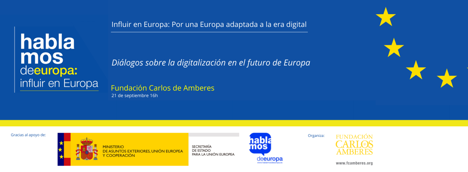 Debate Digitalización Europa