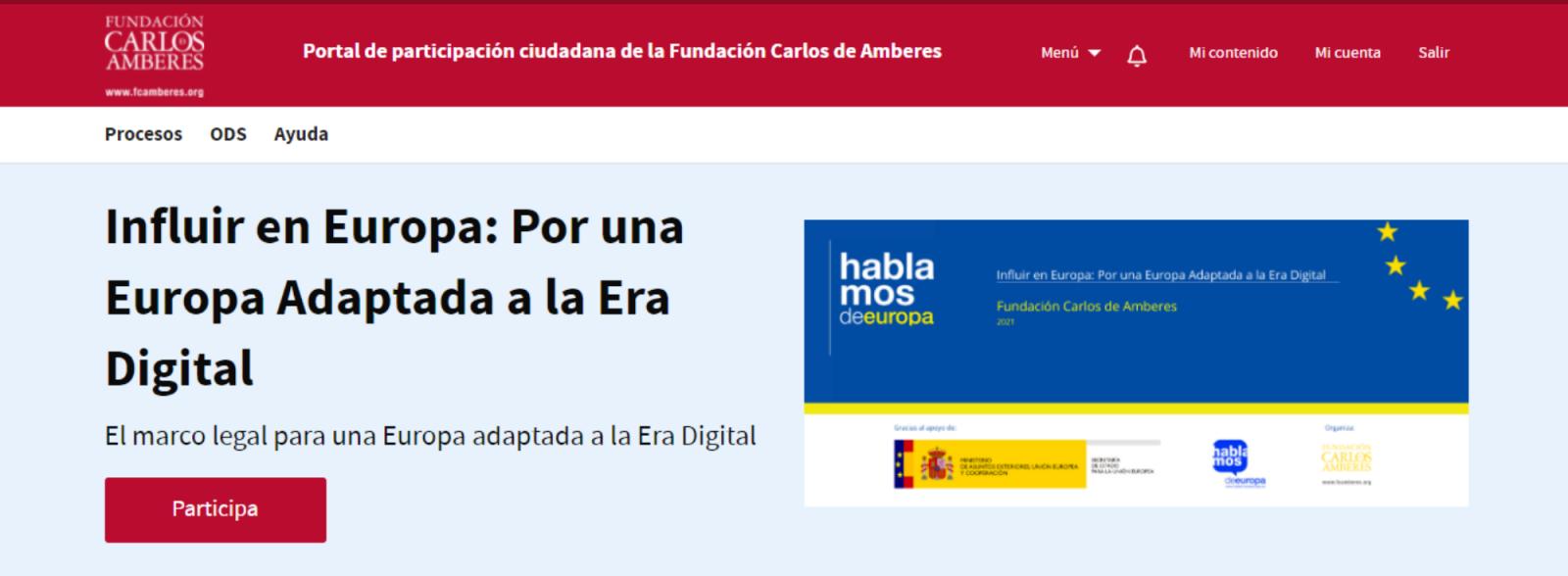Portal Participación Ciudadana