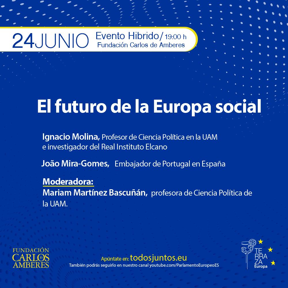 Terraza Europa: El futuro de la Europa social