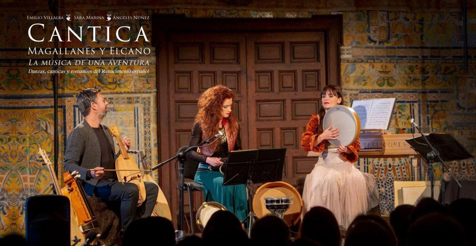 Cantica. Magallanes y Elcano. La música de una aventura.