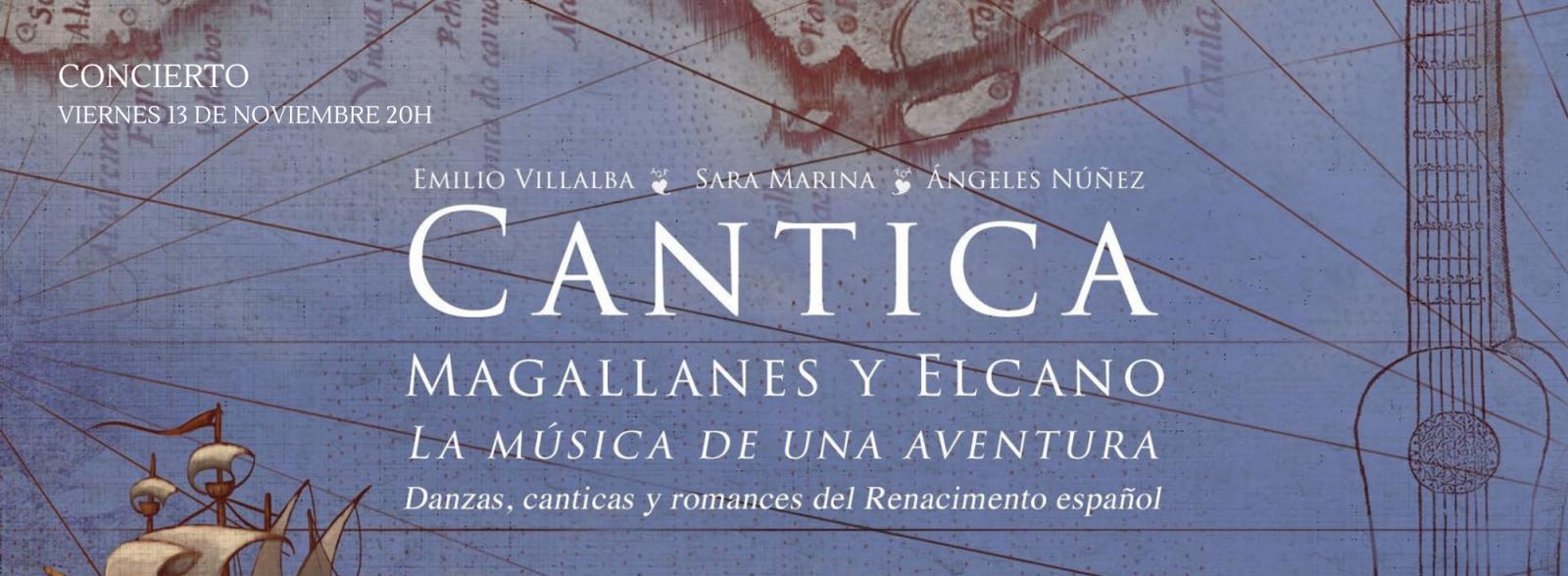 Cantica. Magallanes y Elcano.