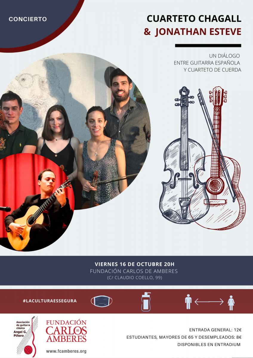 Cuarteto Chagall & Jonathan Esteve