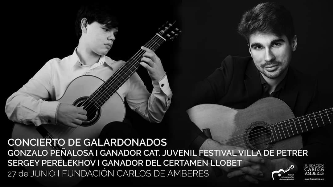 Festival Internacional de Guitarra - CONCIERTO DE GALARDONADOS: GONZALO PEÑALOSA BIEDMA Y SERGEY PERELEKHOV
