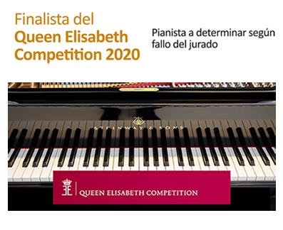 """Finalista """"Queen Elisabeth Competition 2020"""""""