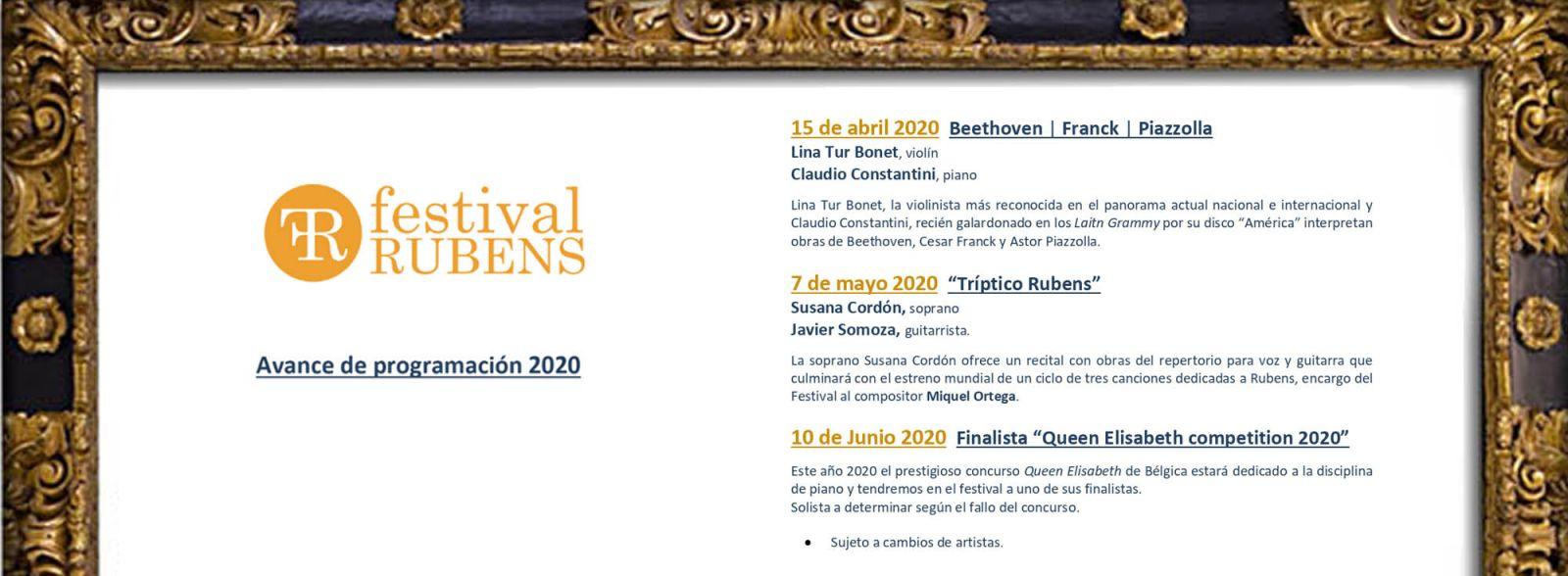 Avance Festival Rubens