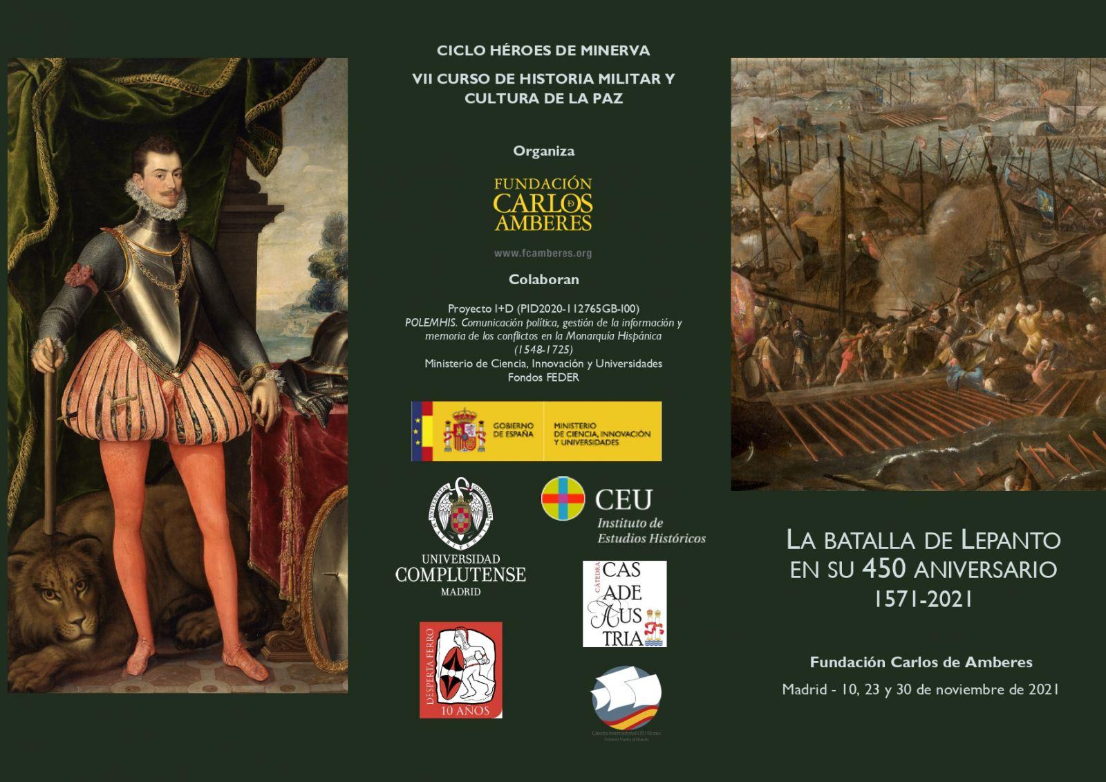 La Batalla de Lepanto en su 450 aniversario 1571-2021