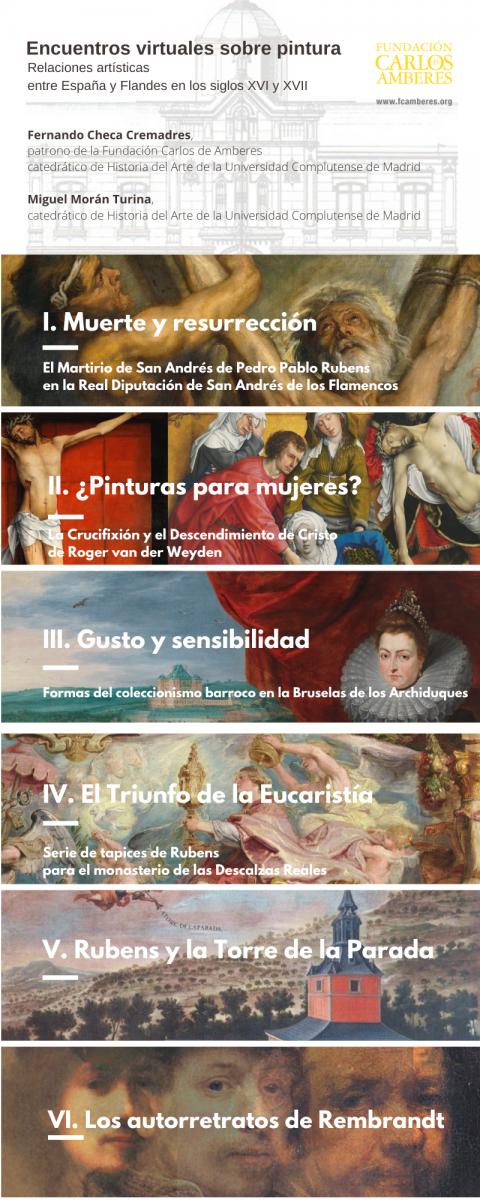 Pintura flamenca y relaciones artísticas entre España y Flandes en los siglos XVI y XVII