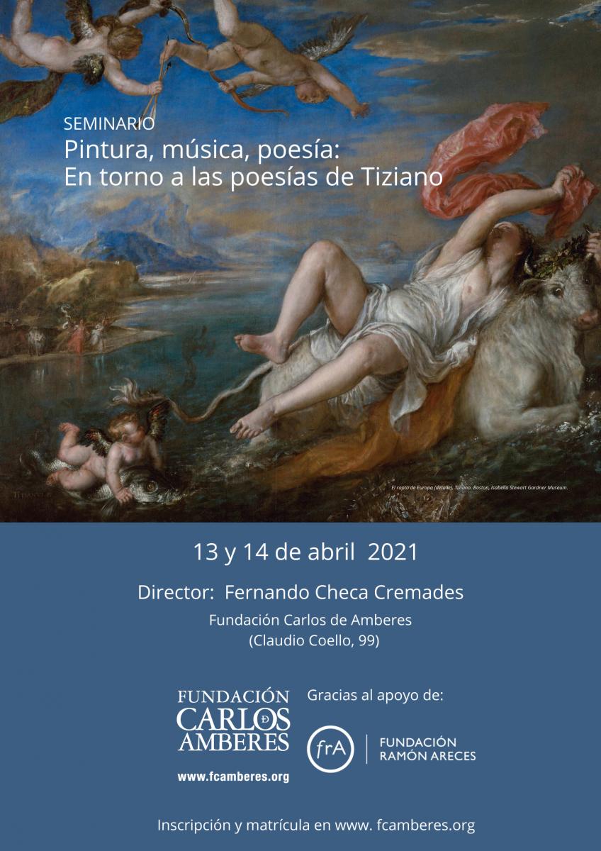 Pintura, música, poesía: En torno a las poesías de Tiziano
