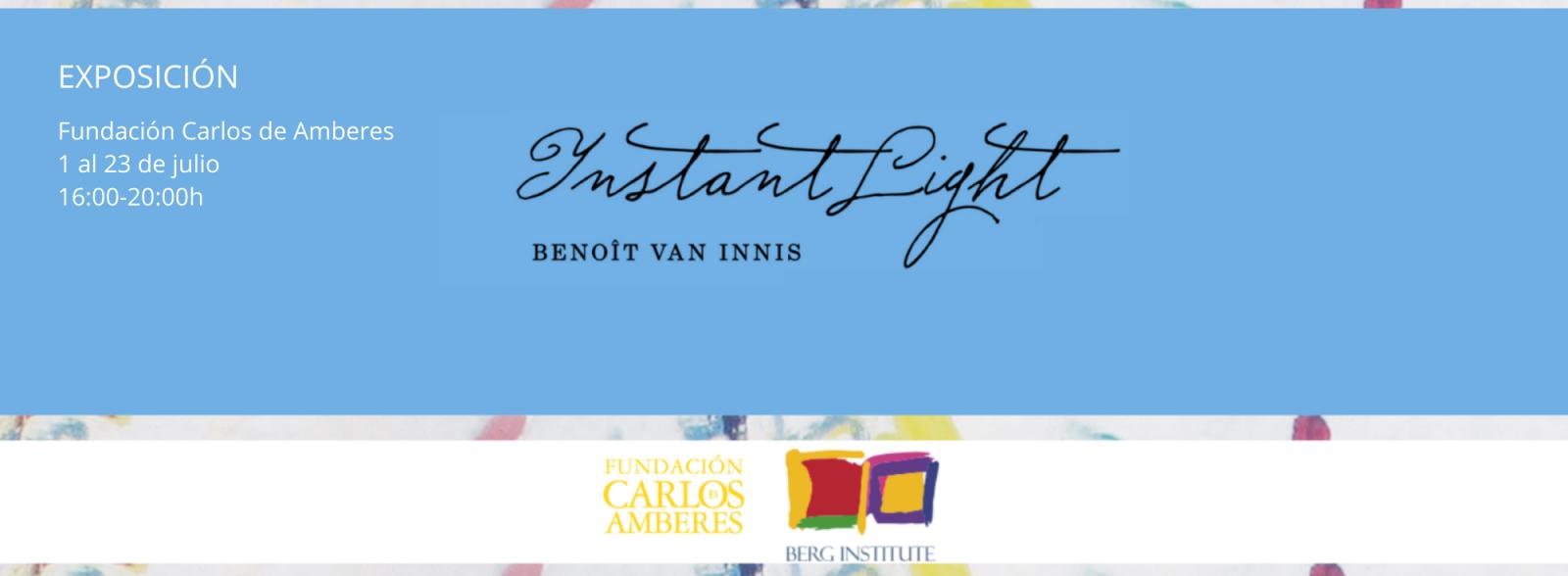 Exposición Benoit Van Innis