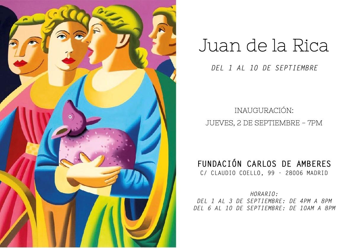 Exposición Juan de la Rica