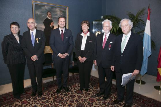Visita del Primer Ministro de Luxemburgo