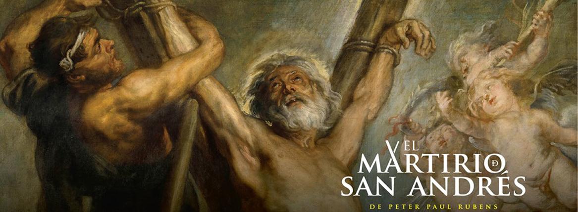 El Martirio de San Andrés en el MUNAL