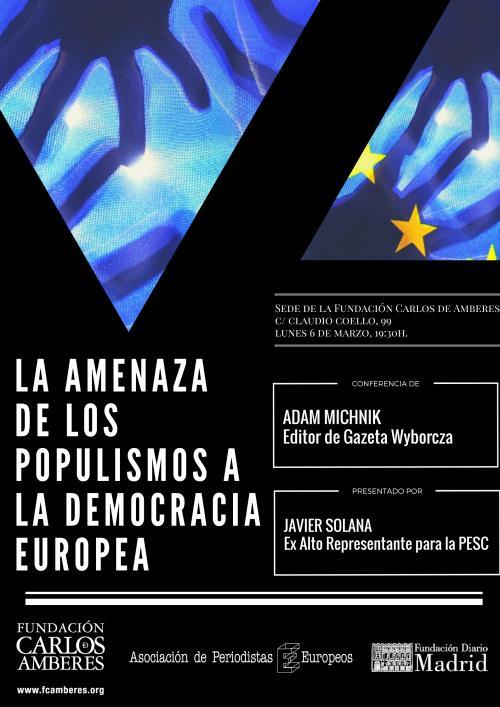 La amenaza de los populismos a la democracia europea